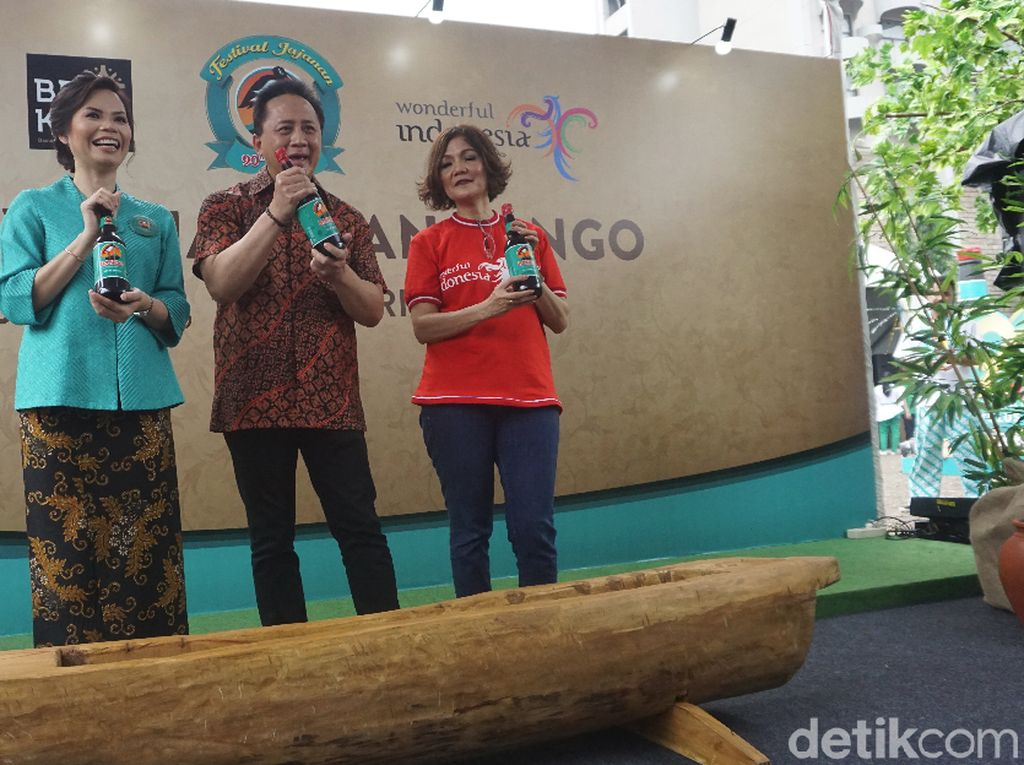 Manjakan Lidah dengan Kuliner Nusantara di Festival Jajanan Bango 2018