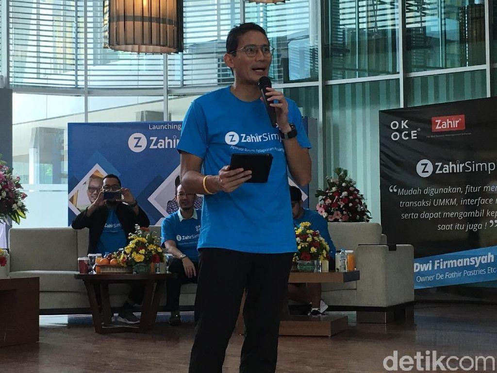 Sandi: Bank DKI Setuju Beri Bunga Kredit 7% ke Peserta OK OCE