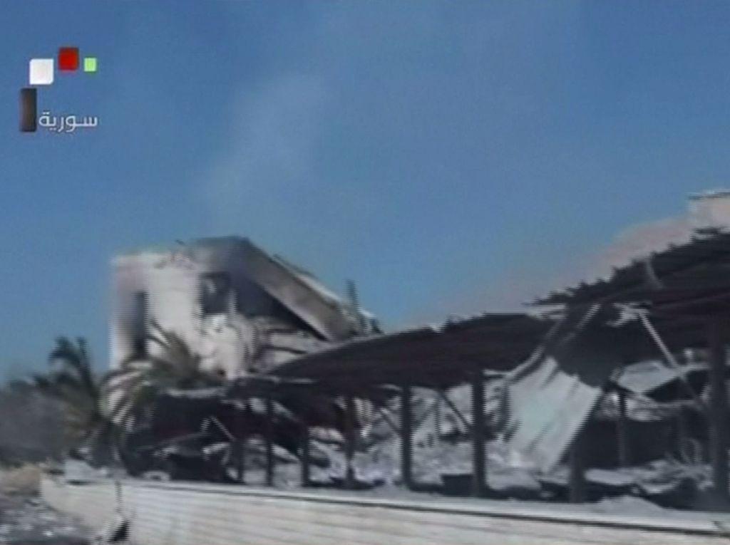 Video Kerusakan Damaskus karena Serangan AS dan Sekutu