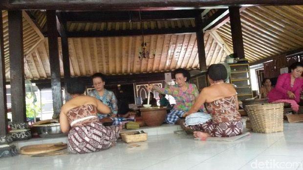 Tradisi ngapem di Keraton Yogyakarta