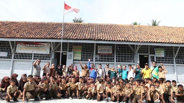 Menpora di SD Pulau Pisang: Muncul Nama Ronaldo, Evan Dimas, dan Bepe