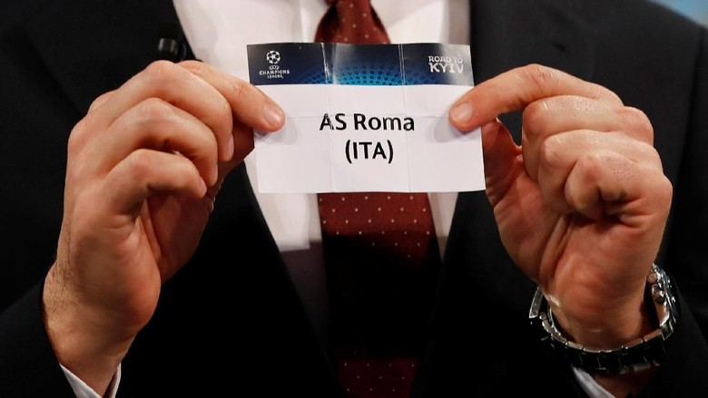 Heboh AS Roma Jual Tiket Lawan Liverpool Sebelum Drawing