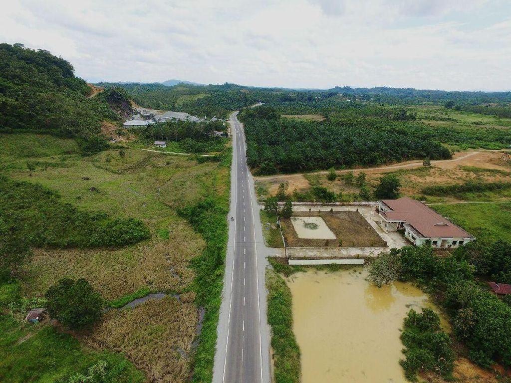 Apa Kabar Proyek Pembangunan Jalan di Perbatasan RI-Malaysia?