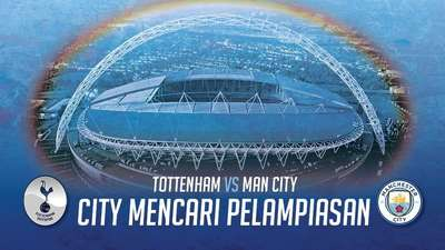 City Mencari Pelampiasan di Wembley