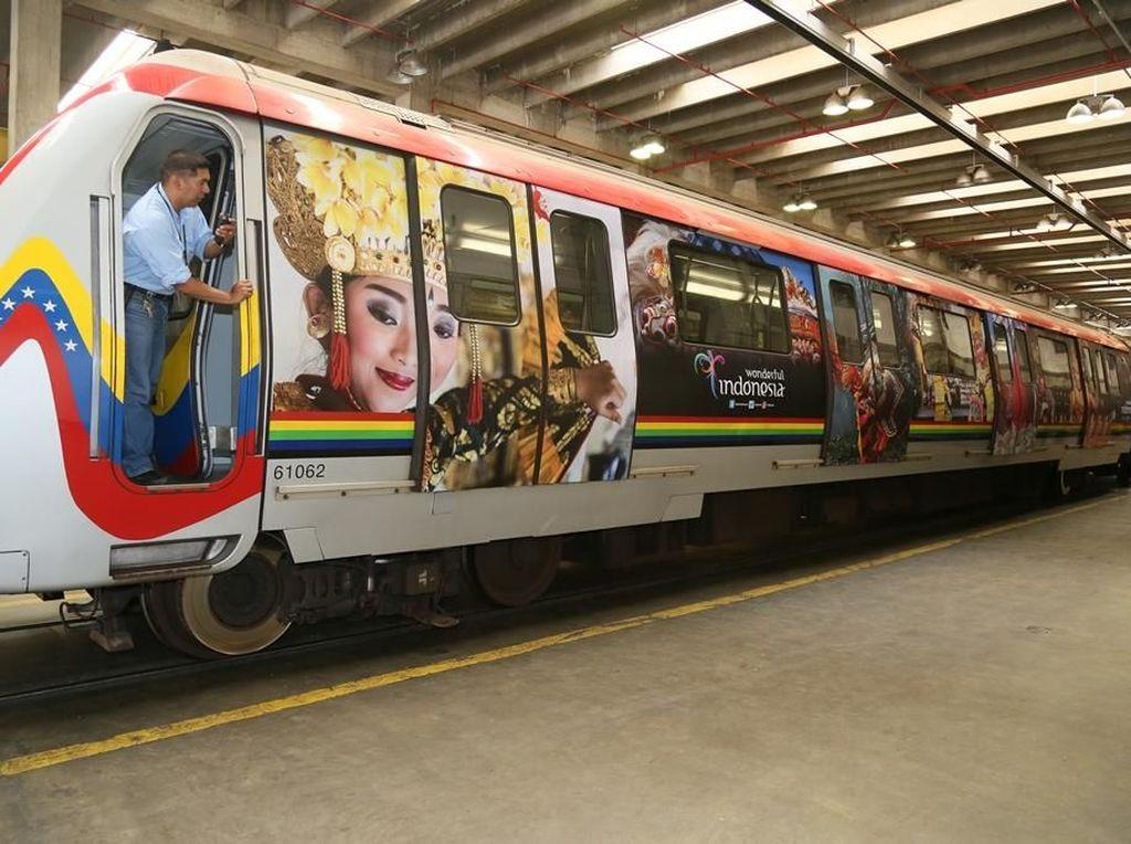 Bukan Iseng, Promosi Indonesia di Angkutan Umum Venezuela Sudah 3 Tahun