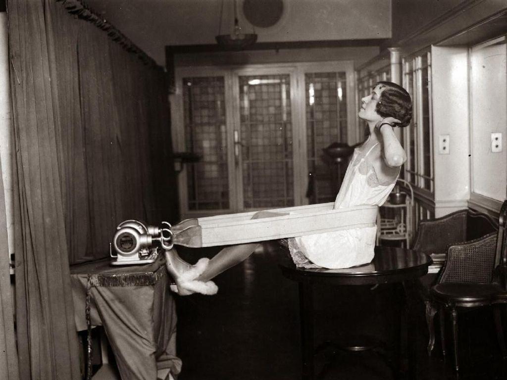 Foto: Begini Penampakan Jadul Aktivitas Nge-gym di Tahun 1920-an