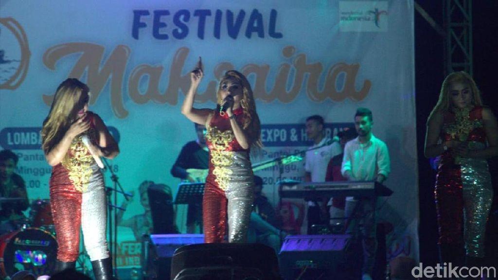 3 Srigala Sampai Putri Indonesia Goyang Festival Maksaira