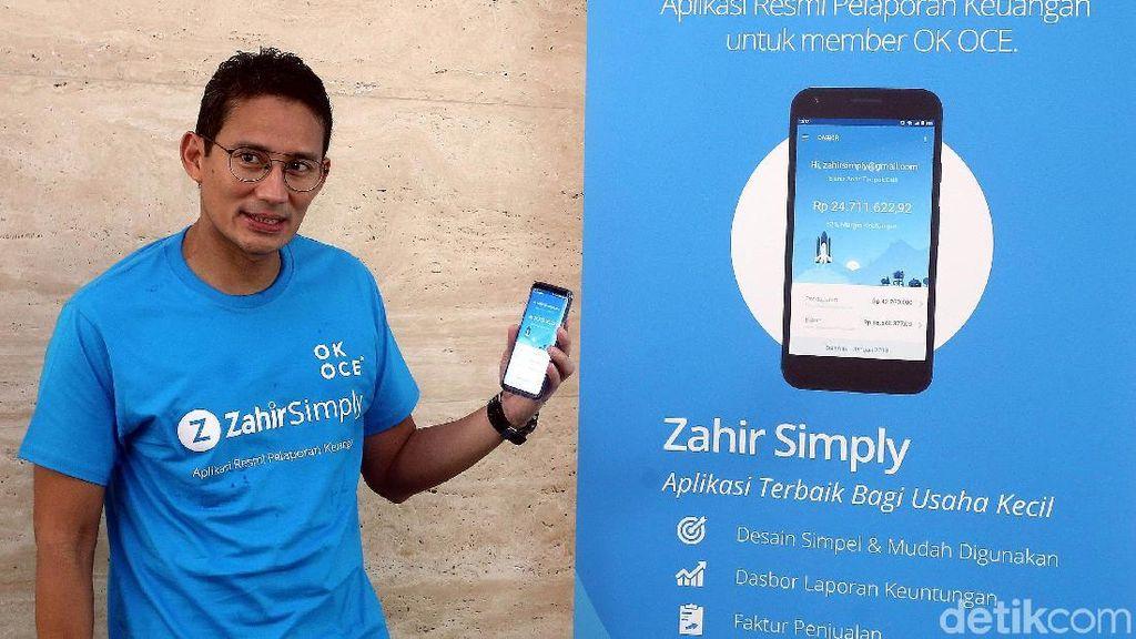 Sandiaga Uno Luncurkan Aplikasi Keuangan OK OCE