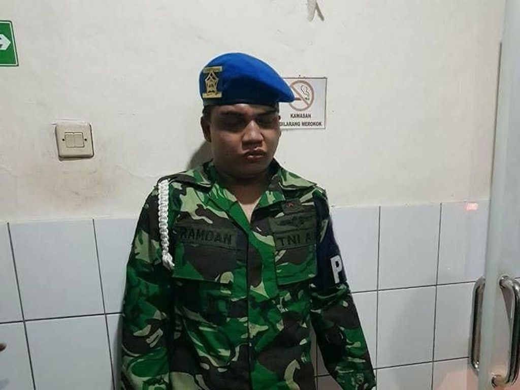 Modus Cari Pacar, Prajurit TNI AU Gadungan Diamankan Pomau Bogor