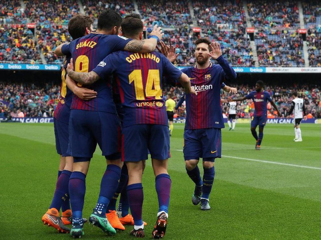 Rentang Sehari, Barca Punya Kans Juara Copa del Rey dan La Liga