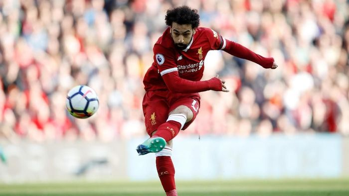 Mohamed Salah jadi ancaman untuk AS Roma pekan depan (Carl Recine/Action Images via Reuters)