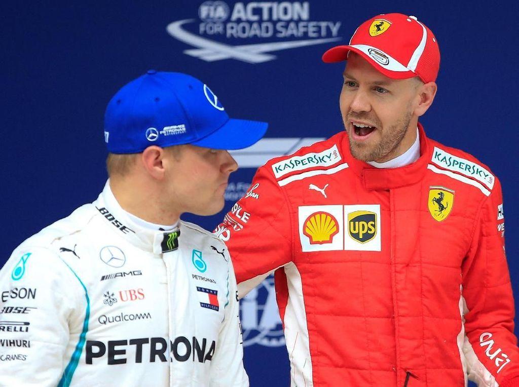Selisih Waktu dengan Ferrari Bikin Mercedes Terkejut