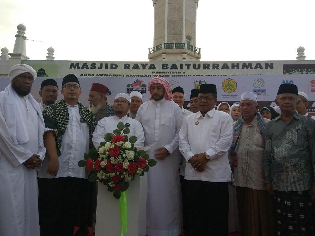 Diawali Tablig Akbar, 1000 Ton Beras untuk Suriah Dikirim dari Aceh