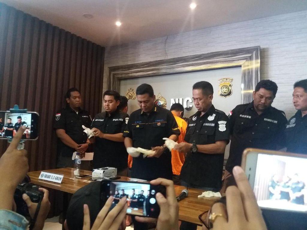 Polisi: Broker Siapkan Tempat Pesta Sabu Riza Shahab di Apartemen