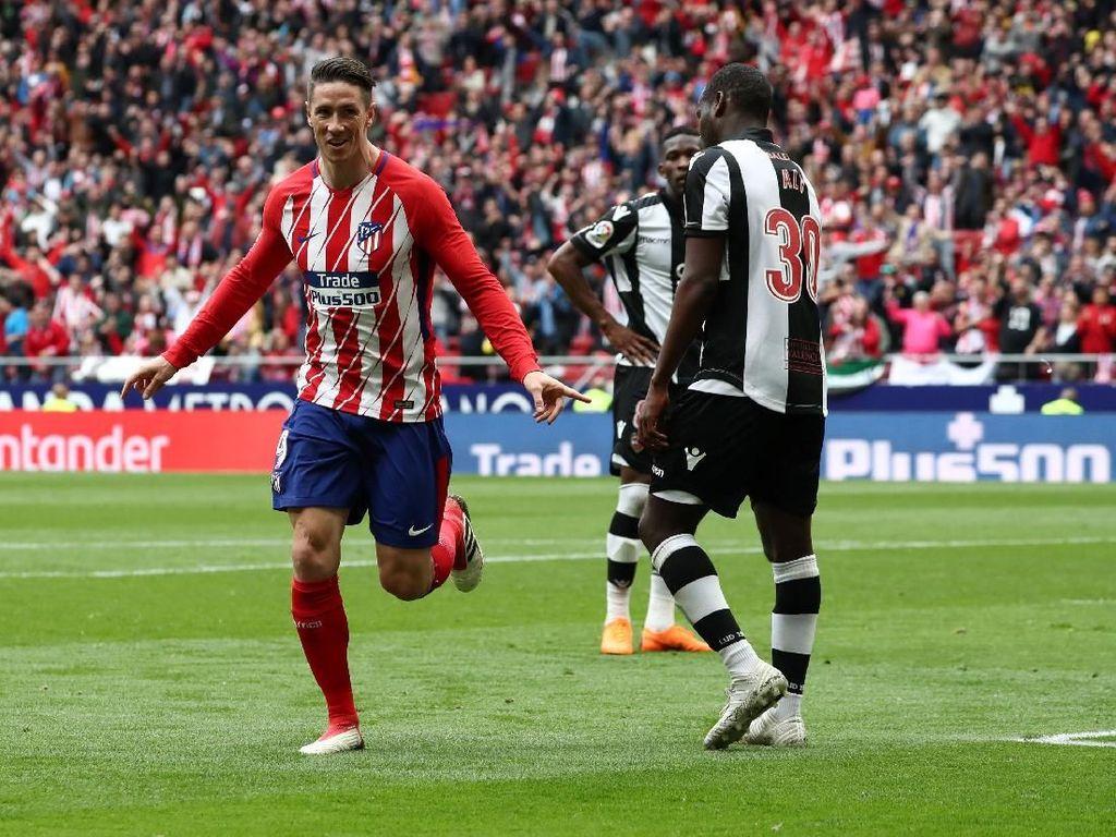 Hantam Levante 3-0, Atletico Dapat Tiket Liga Champions