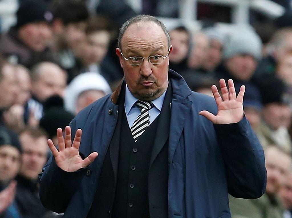 Rafael Benitez Salah Satu Manajer Teratas di Daftar Incaran Tottenham?