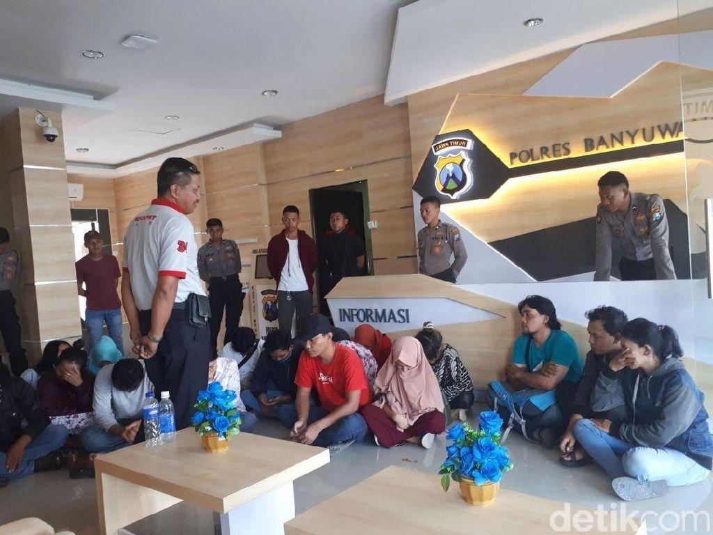 Operasi Pekat dan Tumpas di Banyuwangi, 26 Orang Terjaring