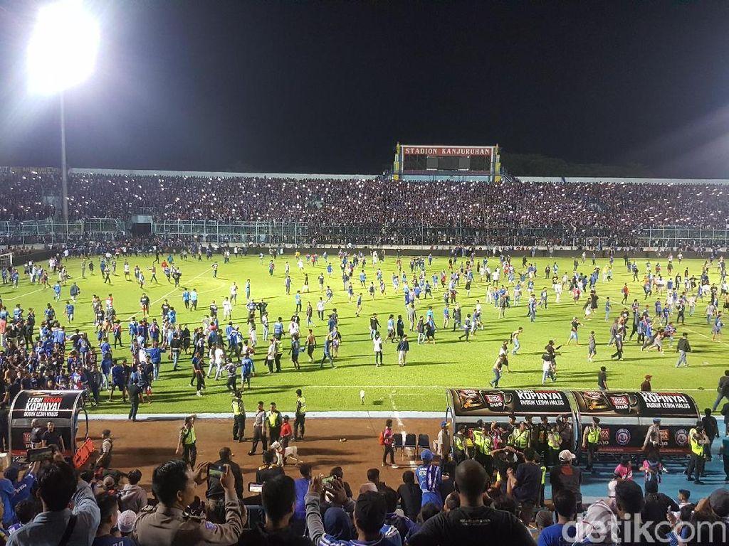 Soal Kericuhan di Kanjuruhan, Arema FC Tunggu Keputusan Komdis