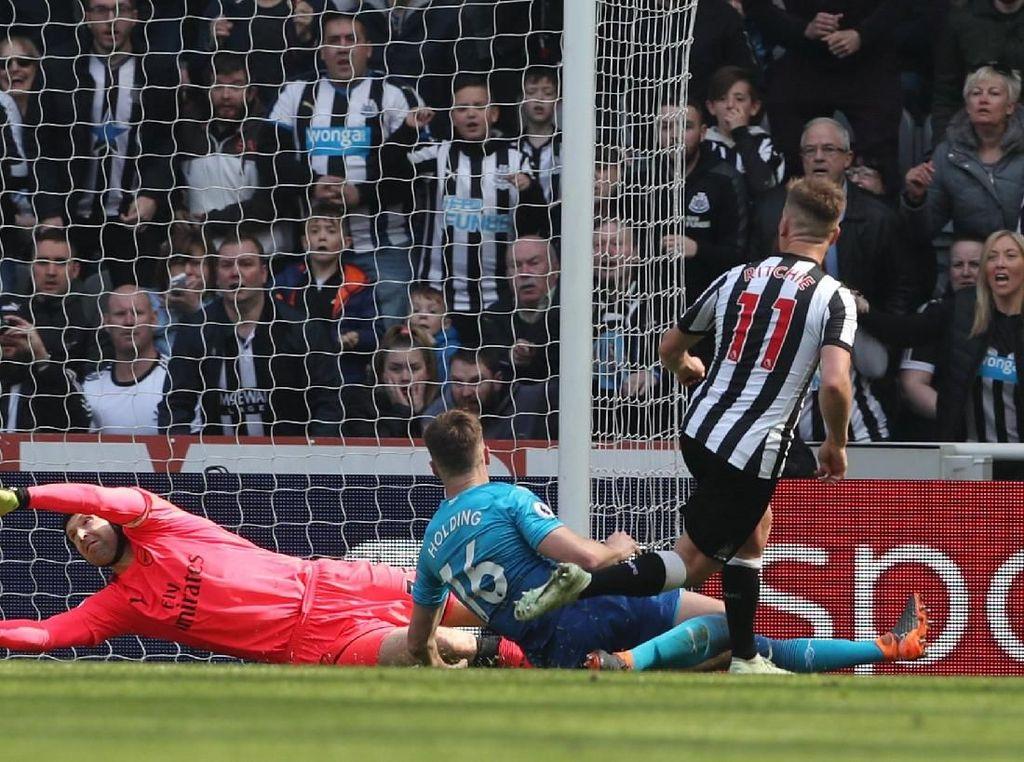 Meski Unggul Lebih Dulu, Arsenal Dipermalukan Newcastle