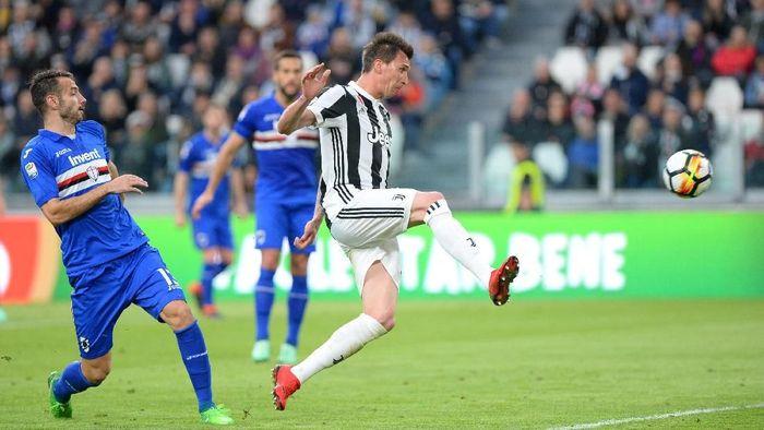 Juventus menang 3-0 atas Sampdoria. (Foto: Massimo Pinca/Reuters)