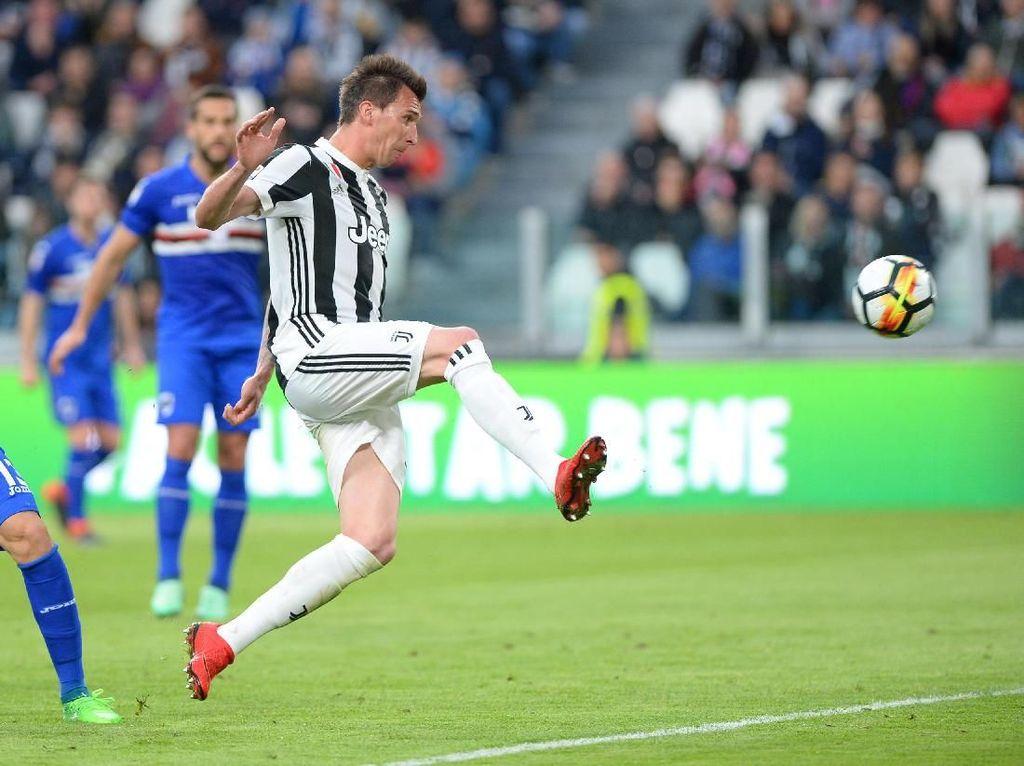 Hajar Sampdoria 3-0, Juventus Makin Kokoh di Puncak Klasemen