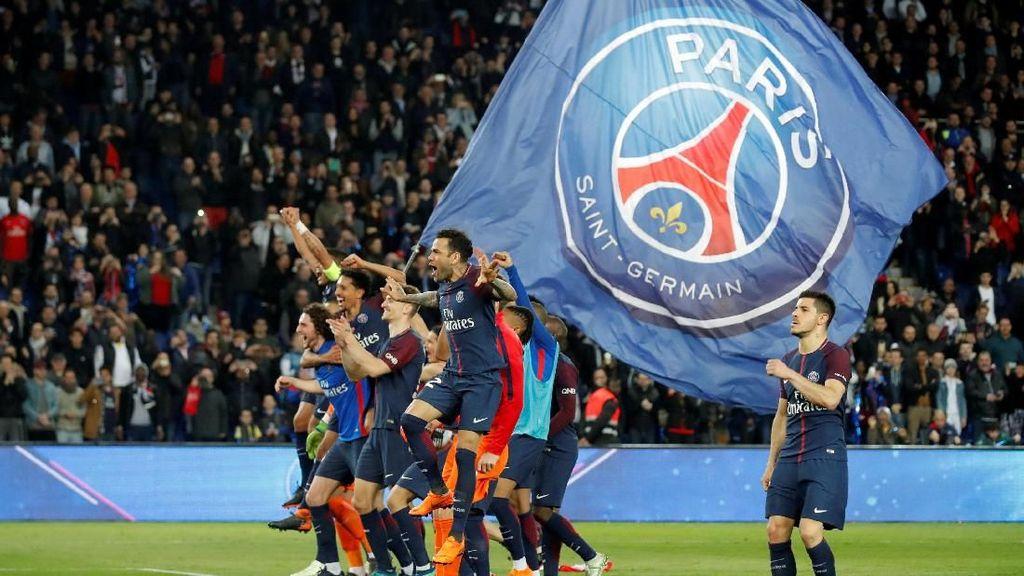 Rentetan Gol PSG saat Hancurkan Monaco