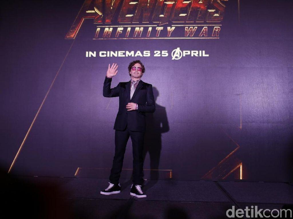 Yihaa.. Iron Man Sapa Indonesia dan Janji Bakal Mampir!
