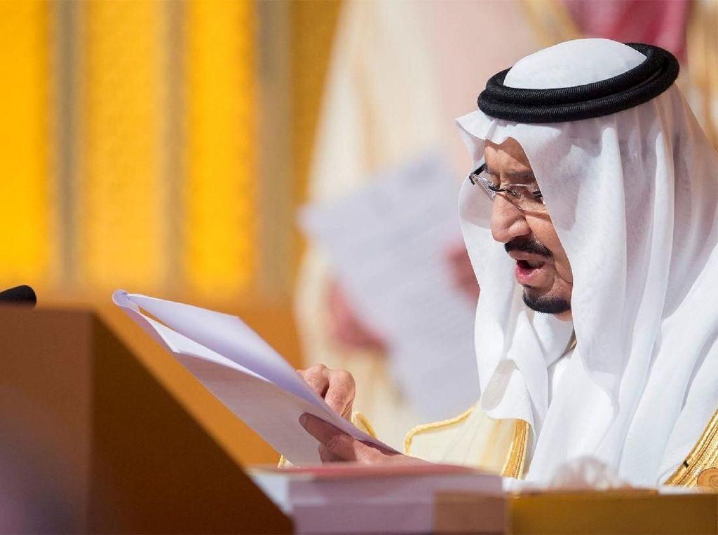 Raja Salman Selesai Jalani Operasi Kantong Empedu