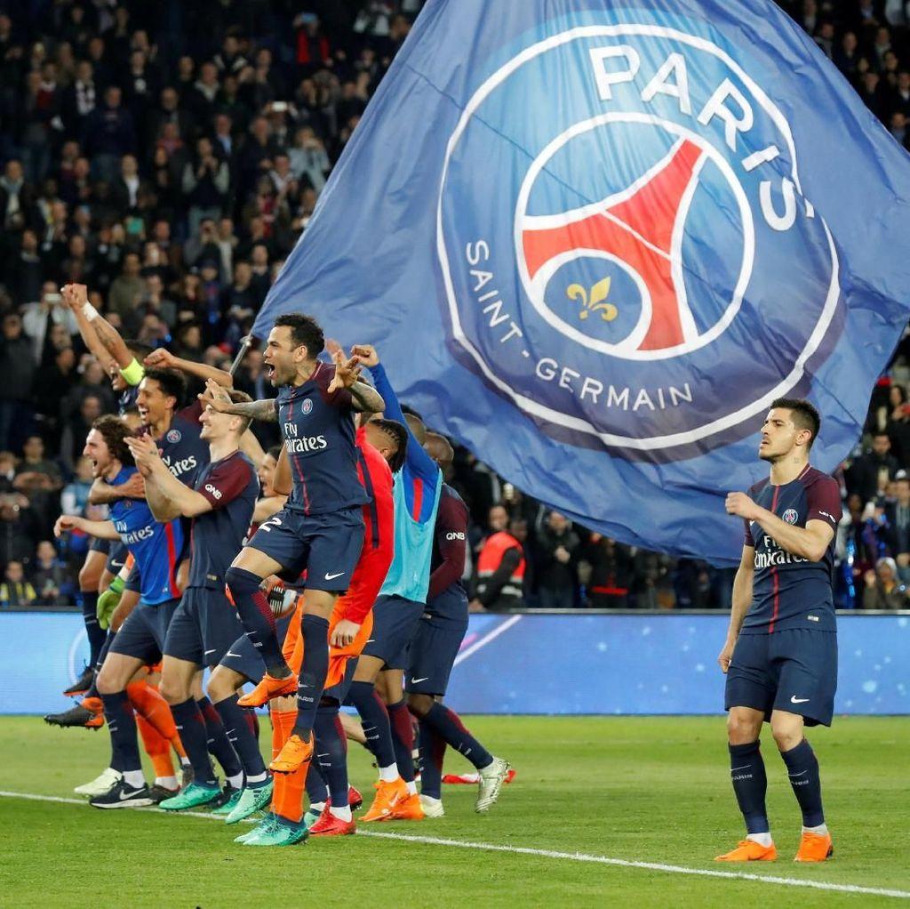 Hancurkan Monaco 7-1, PSG Kunci Gelar Juara Ligue 1