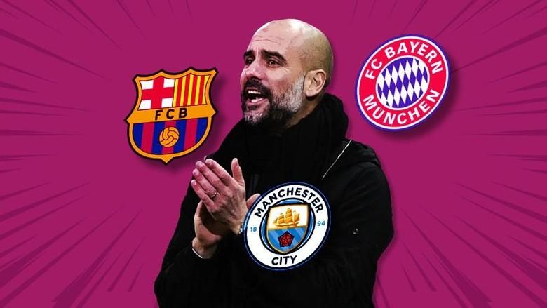 Pep Guardiola, Si Penakluk Tiga Liga