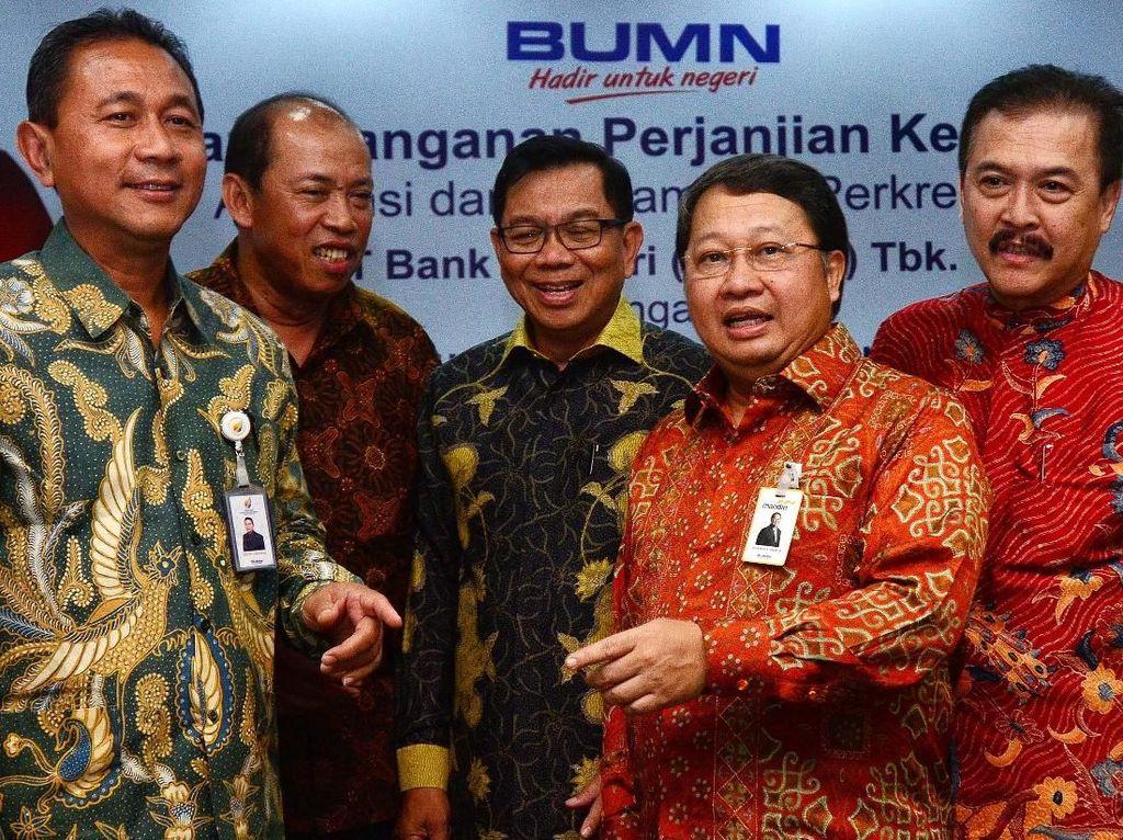 Sinergi BUMN untuk Beragam Proyek Nasional