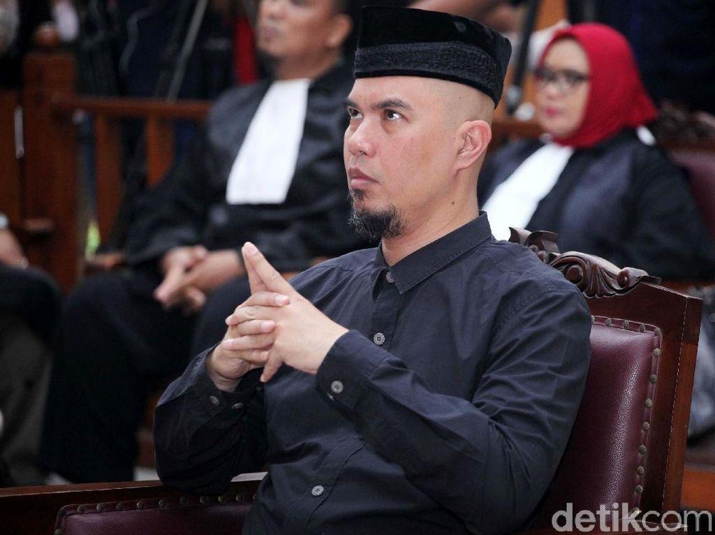 Hakim Perintahkan Ahmad Dhani Ditahan