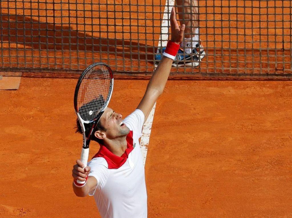 Djokovic Lewati Babak Pertama, Nishikori Sisihkan Berdych