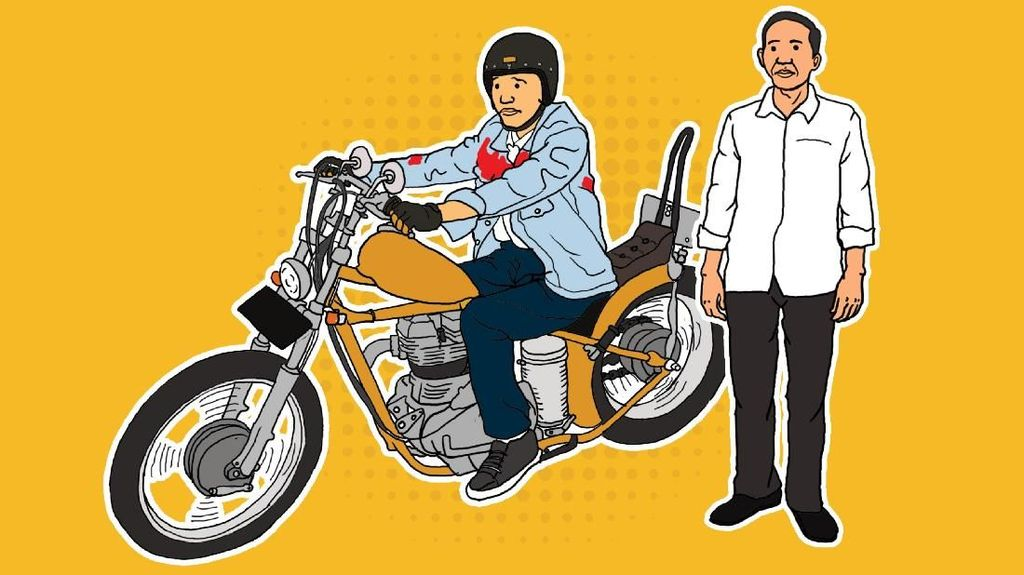 Jokowi Dulu dan Kini