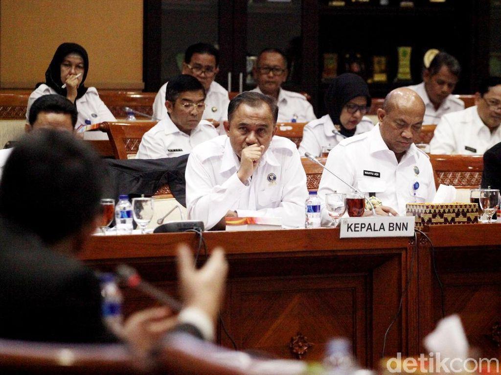 Gelar RDP, Komisi III-BNN Bahas Kejahatan Narkotika
