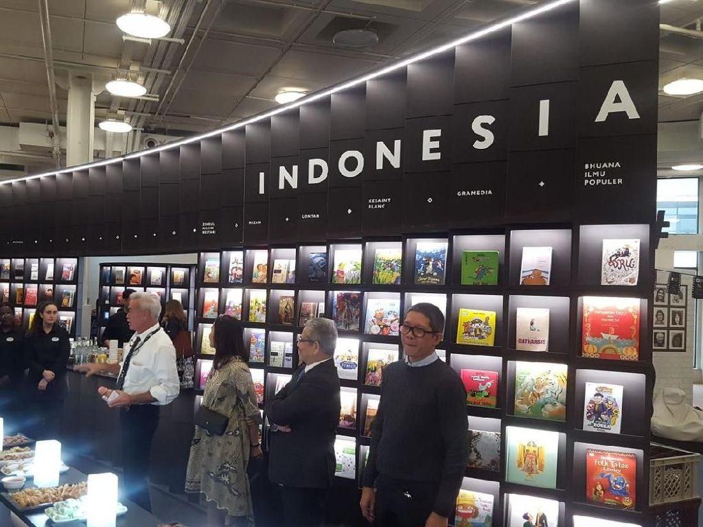 14 Judul Buku Indonesia Terjual di London Book Fair 2018