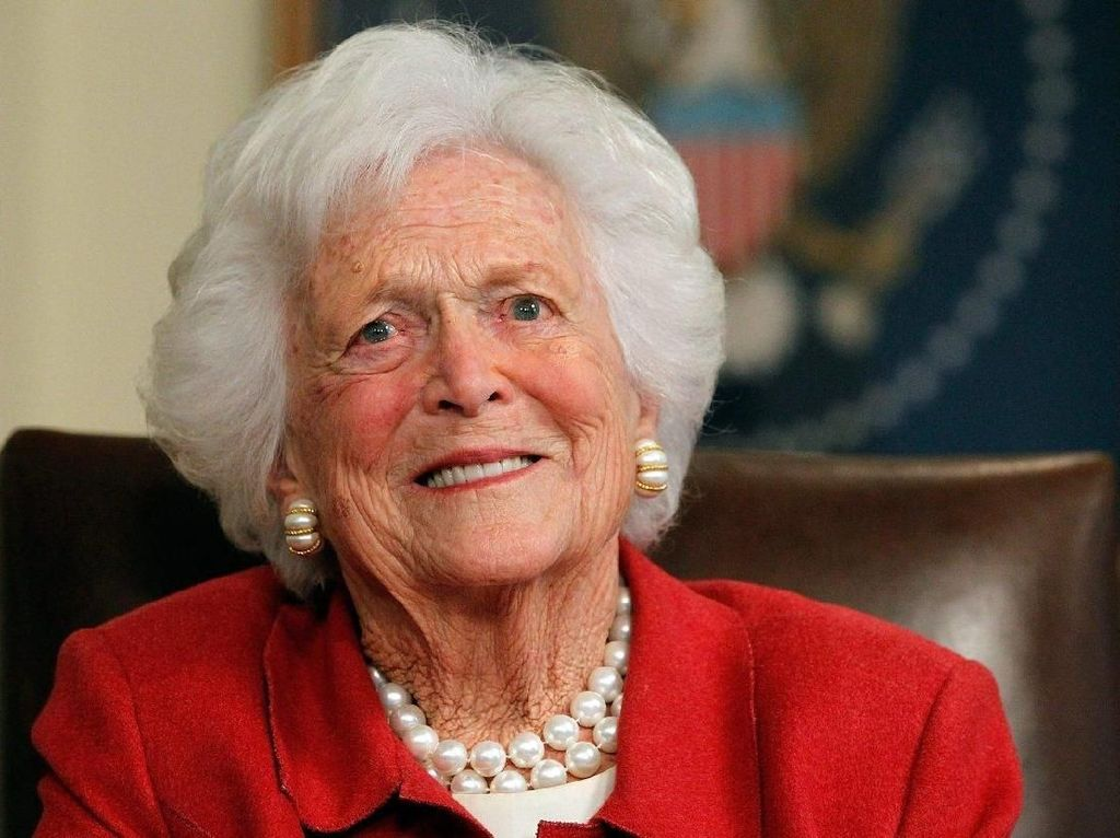 Mantan Ibu Negara AS Barbara Bush Meninggal Dunia