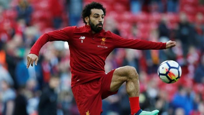 Mohamed Salah berpeluang memecahkan rekor poin di Fantasy Premier League (Foto: Andrew Yates/Reuters)