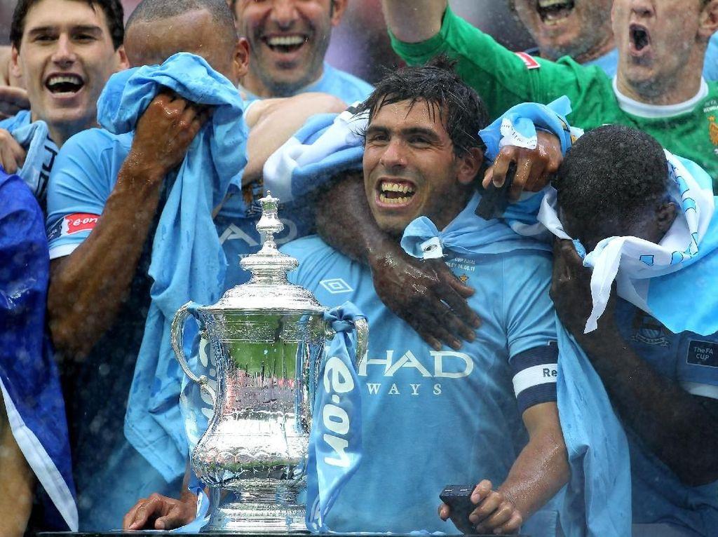 Trofi-trofi Manchester City di Era Sheikh Mansour