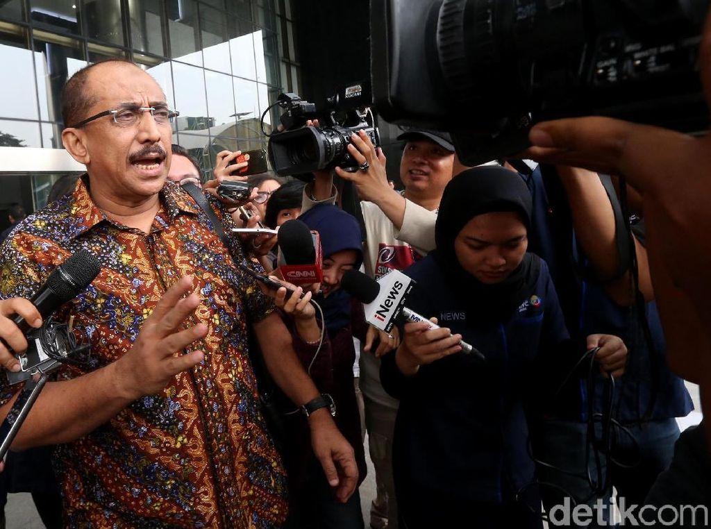 Djamal Aziz Kembali Diperiksa KPK
