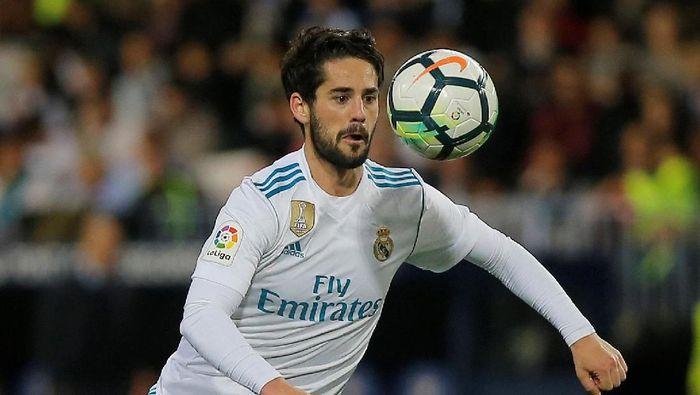 Isco menegaskan tidak tertarik meninggalkan Real Madrid. (Foto: REUTERS/Jon Nazca)