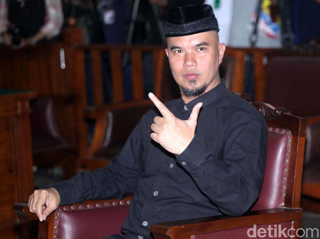 Di Sidang, Saksi Sebut HP Ahmad Dhani Dipegang Tim Pilbup Bekasi