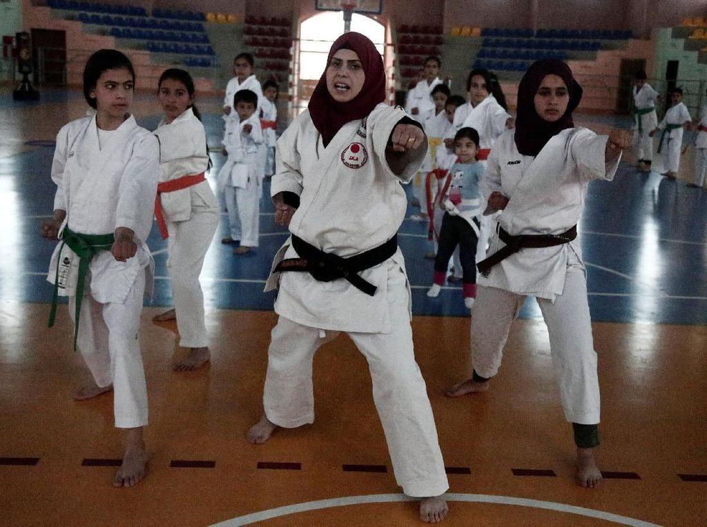 Mengenal Samah, Guru Karate Bagi Anak-anak di Palestina
