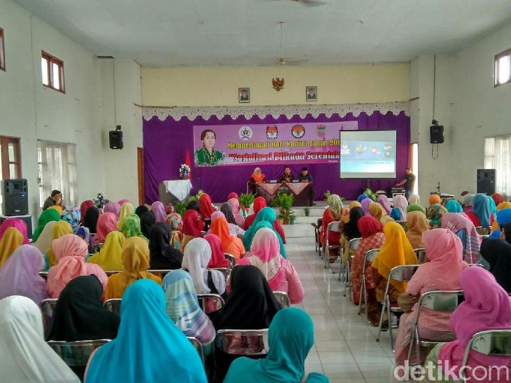KPU Ajak Wanita Dongkrak Partisipasi Pemilih di Pilbup Ciamis