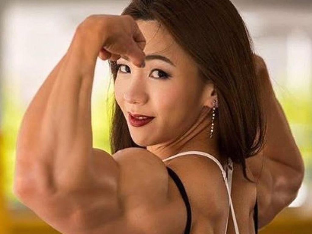 Kekar Abis! Begini Olahraganya Binaragawan Cantik dari Korea