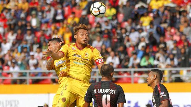 Sriwijaya FC saat ini berada satu tingkat di atas zona degradasi Liga 1 2018. (