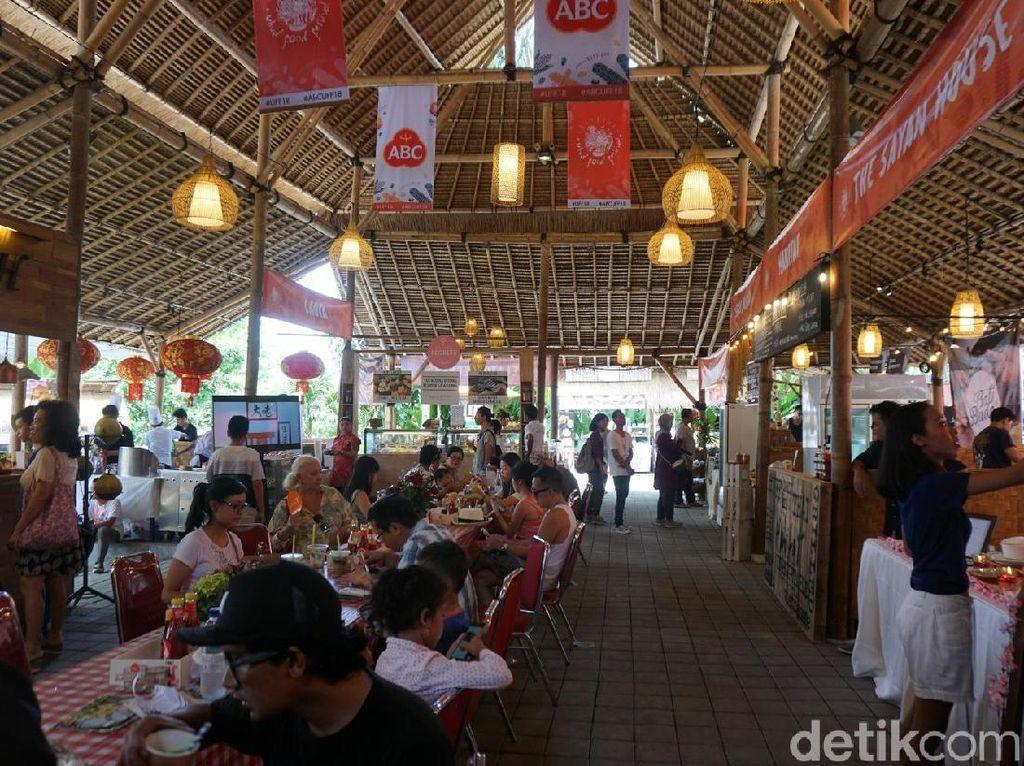 Ini Kemeriahan Ubud Food Festival Bersama Produk ABC