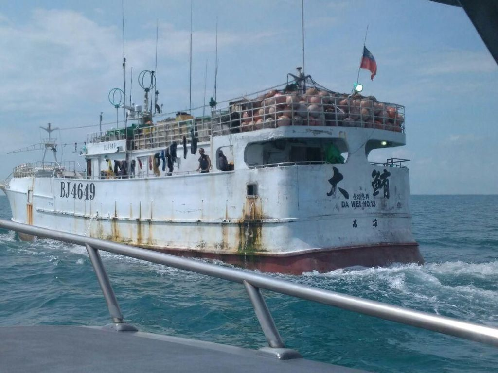 Bareskrim-Bea Cukai Patroli di Perairan Riau, Cegah Narkoba Masuk