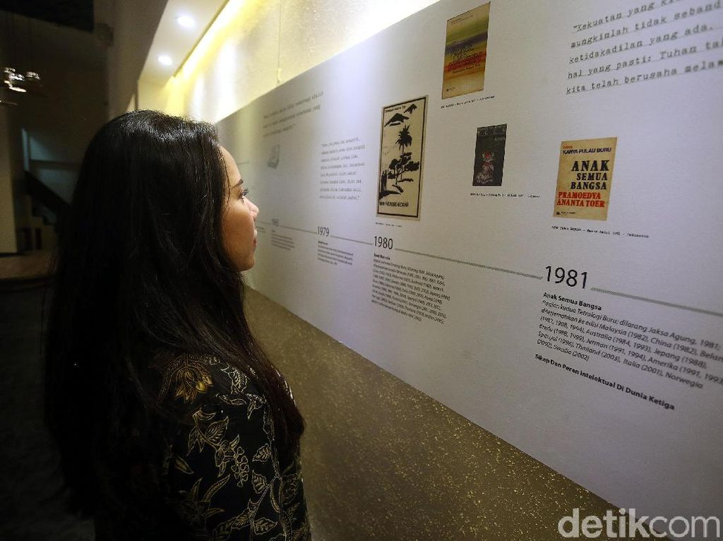 Namaku Pram Ajak Publik Mengingat Kembali Sosok Pramoedya Ananta Toer