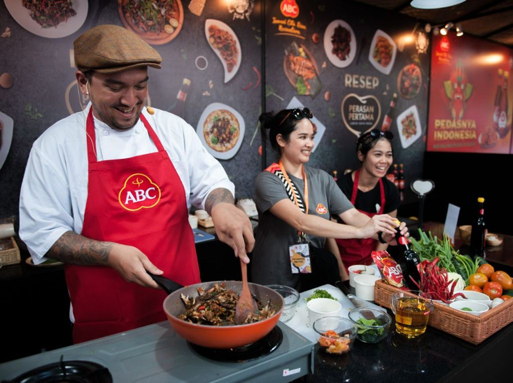 Bawa Kreasi Kuliner Nusantara, ABC Bikin Ubud Food Festival Meriah